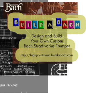 Build a Bach Design and Build your own custom Bach Stradavirius Trumpet
